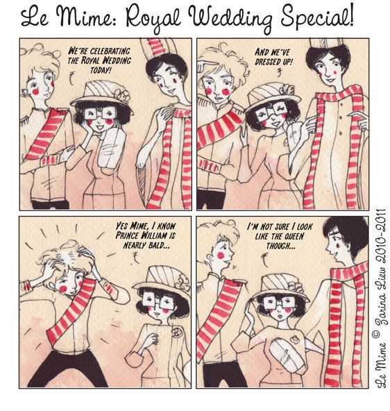 Le Mime: Royal Wedding Special!
